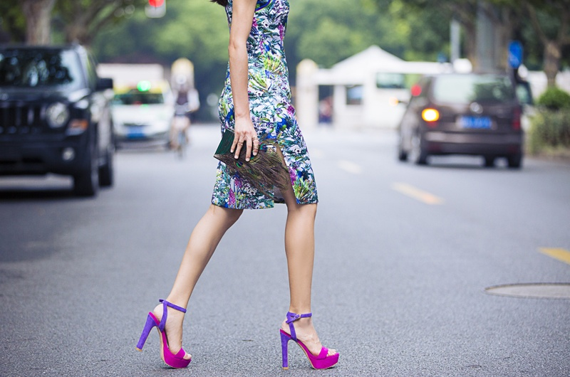 [Ava搭配日记]孔雀花的优雅 - AvaFoo - Avas Fashion Blog