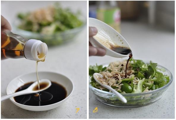 青椒拌虾皮-狼之舞 - 荷塘秀色 - 茶之韵