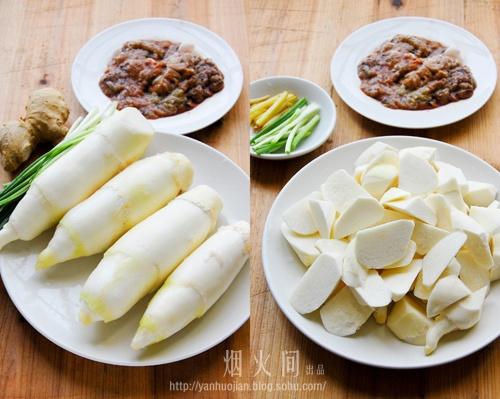 家常时令下饭菜——【鱼籽茭白】 - 慢美食 - 慢 美 食