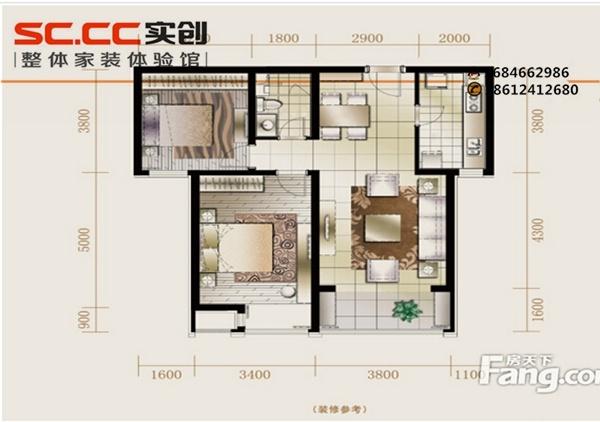 客厅电路改造设计图