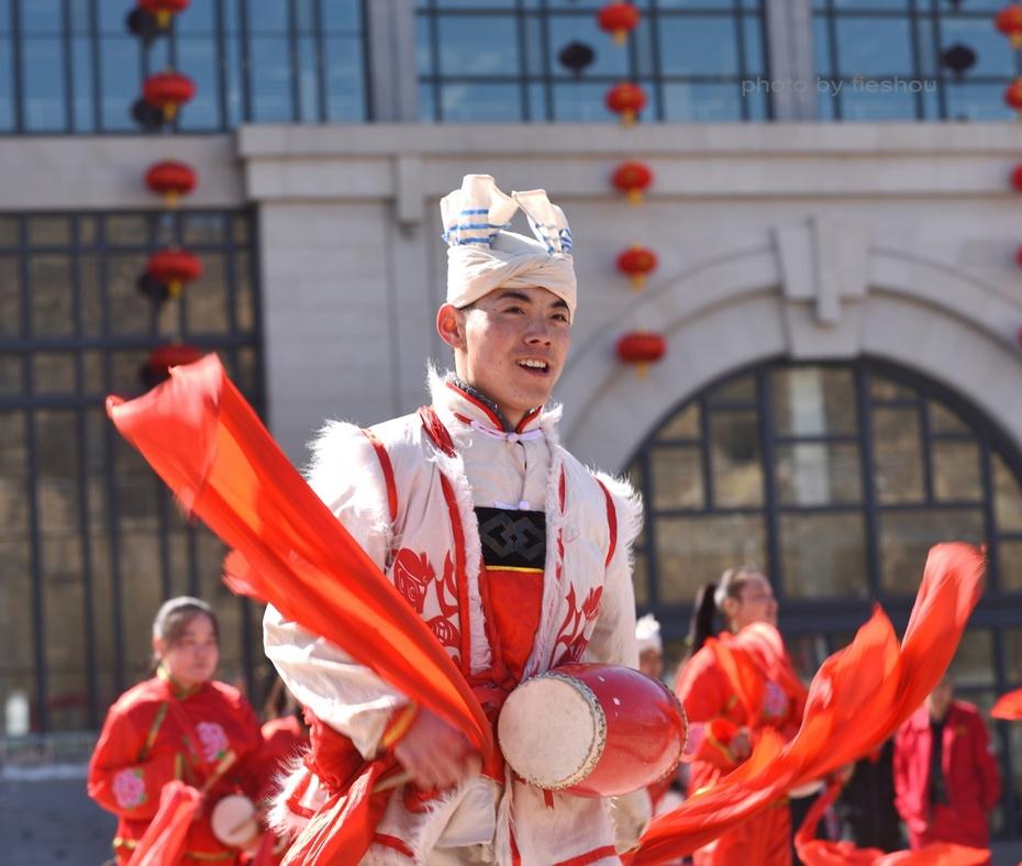 陝北風情(4)—— 看安塞腰鼓_圖1-48