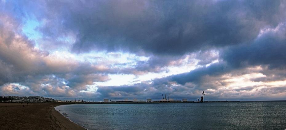 在这里输入标题丹吉尔湾朝霞灿烂,场景壮阔光影变幻--西葡摩直游之九 - 侠义客 - 伊大成 的博客