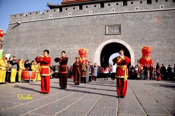 【原创摄影】青州古城观年景3:开城仪式(续) - 古藤新枝 - 古藤的博客