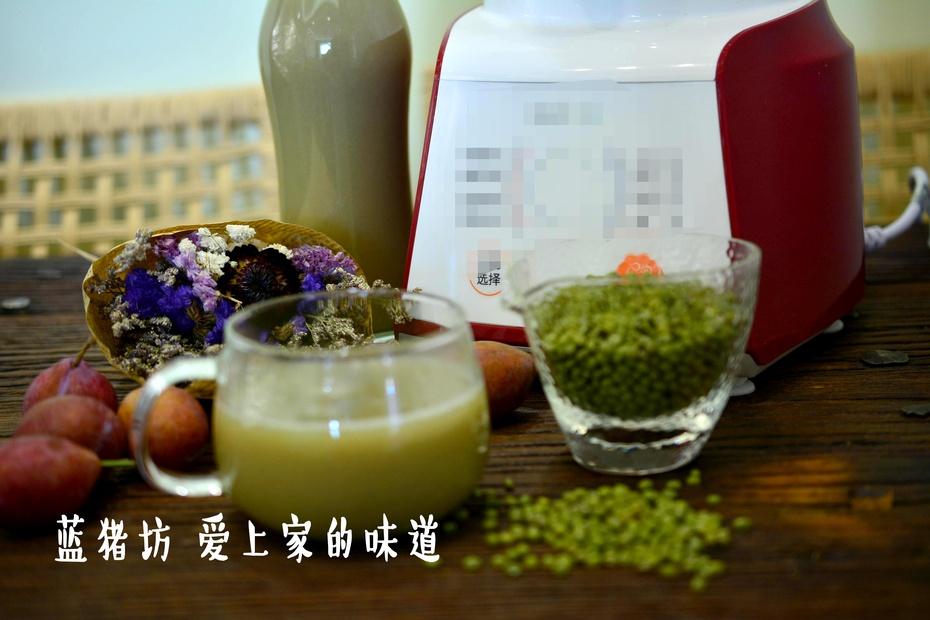炎炎夏日你需要的只是一杯冰镇绿豆沙 - 蓝冰滢 - 蓝猪坊 创意美食工作室