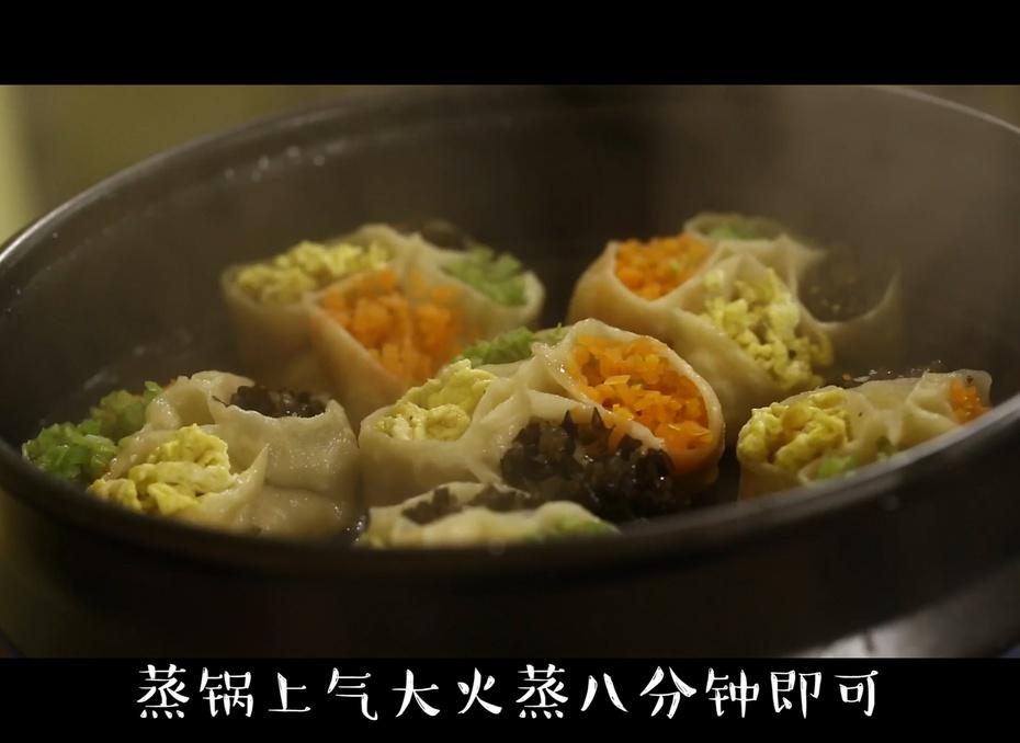 四喜蒸饺,新的一年喜气临门! - 蓝冰滢 - 蓝猪坊 创意美食工作室