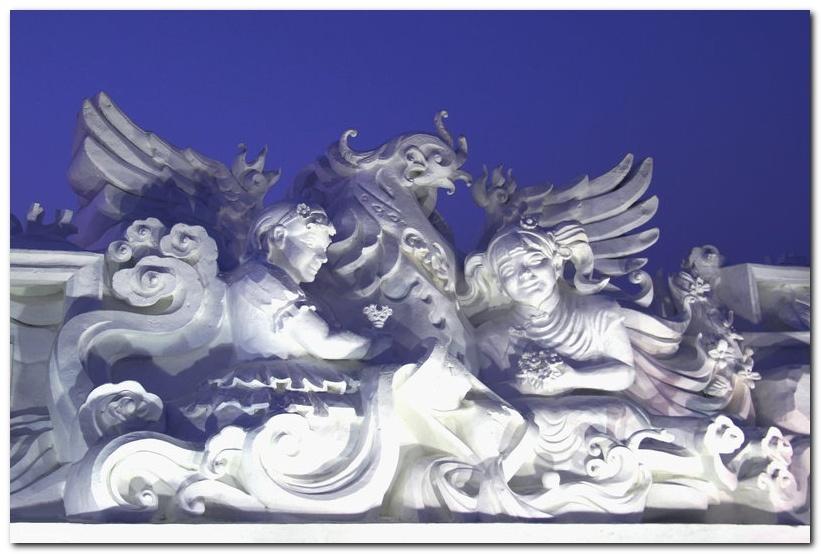 雪雕设计手绘稿图片