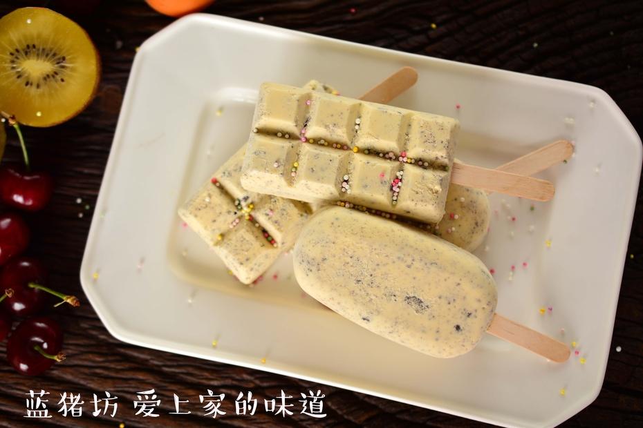 奥利奥奶油冰棍,简单美味学起来 - 蓝冰滢 - 蓝猪坊 创意美食工作室