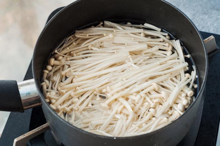 金针菇这样做,简单清爽,清新去油腻-狼之舞 - 荷塘秀色 - 茶之韵