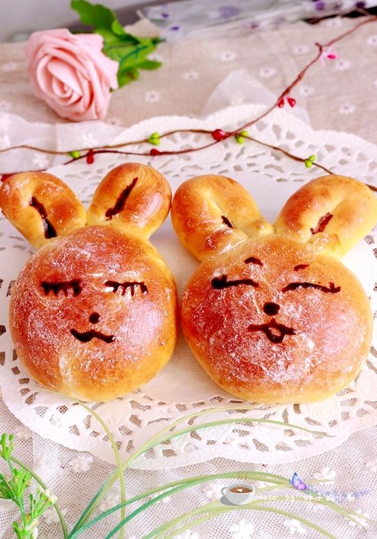 兔子面包 - 叶子的小厨 - 叶子的小厨