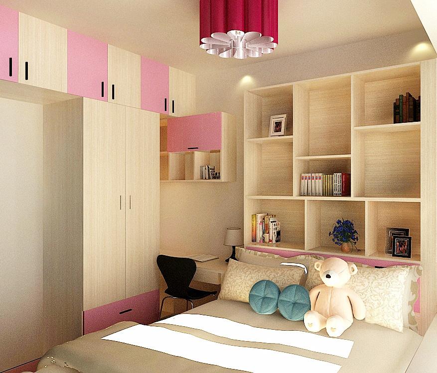 儿童房设计注重收纳,空间整洁明朗许多_亿尚家具_新浪