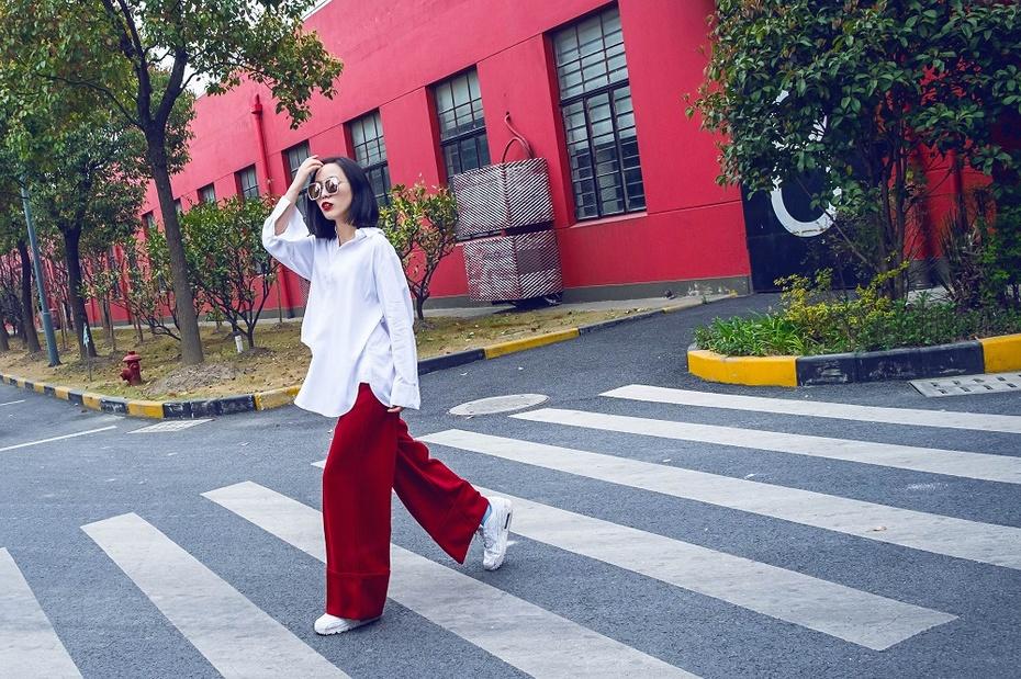 【妮儿の私服日记】帅到炸裂的tomboy衬衣新穿法 - Nikki妮儿 - Nikkis Fashion Blog