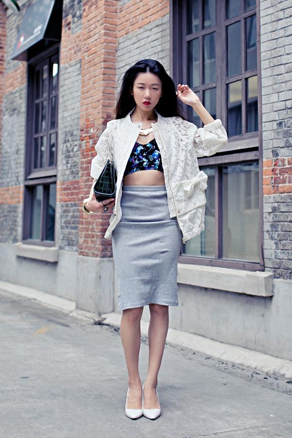 【Ava搭配日记】茧形蕾丝外套 - AvaFoo - Avas Fashion Blog
