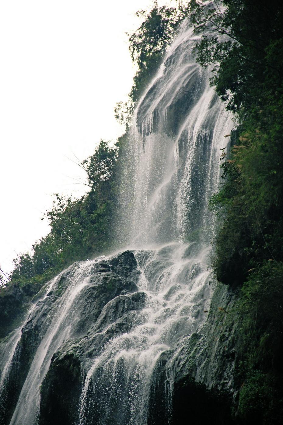 马岭河游大峡谷,激流轻纱看瀑布—早春云贵游之十五 - 侠义客 - 伊大成 的博客