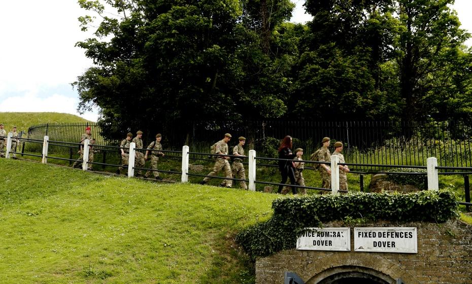 多佛城堡,二战期间英国的秘密指挥中心 - 海军航空兵 - 海军航空兵