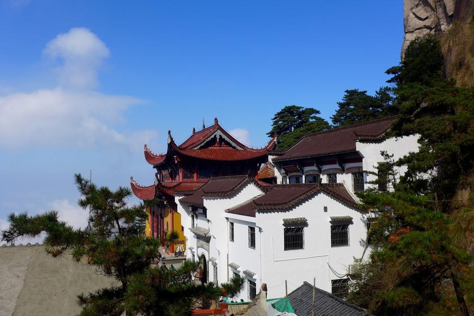 九华山:天台景区 - 余昌国 - 我的博客