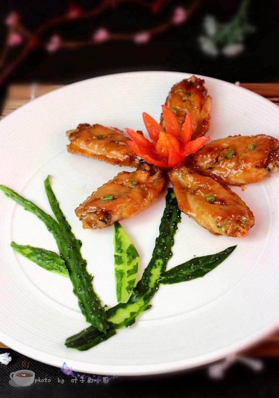 韩式烤鸡翅 - 叶子的小厨 - 叶子的小厨