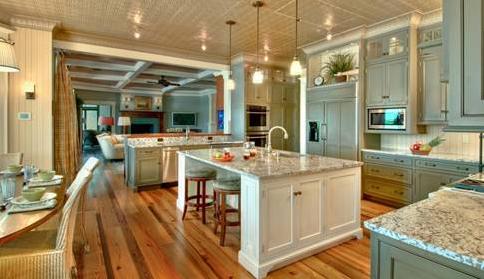 地板不光上得厅堂,还入得厨房 - 国林地板 - 国林木业的博客