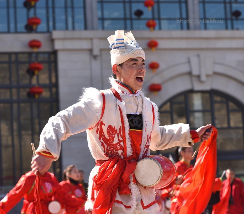 陝北風情(4)—— 看安塞腰鼓_圖1-49