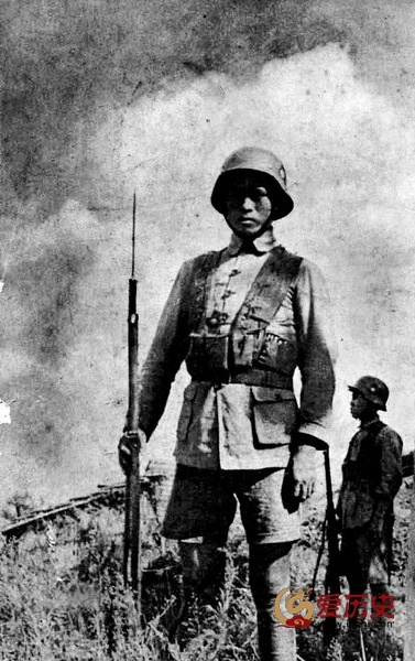 国军连长盘肠杀倭 为国尽忠 - 爱历史 - 爱历史---老照片的故事