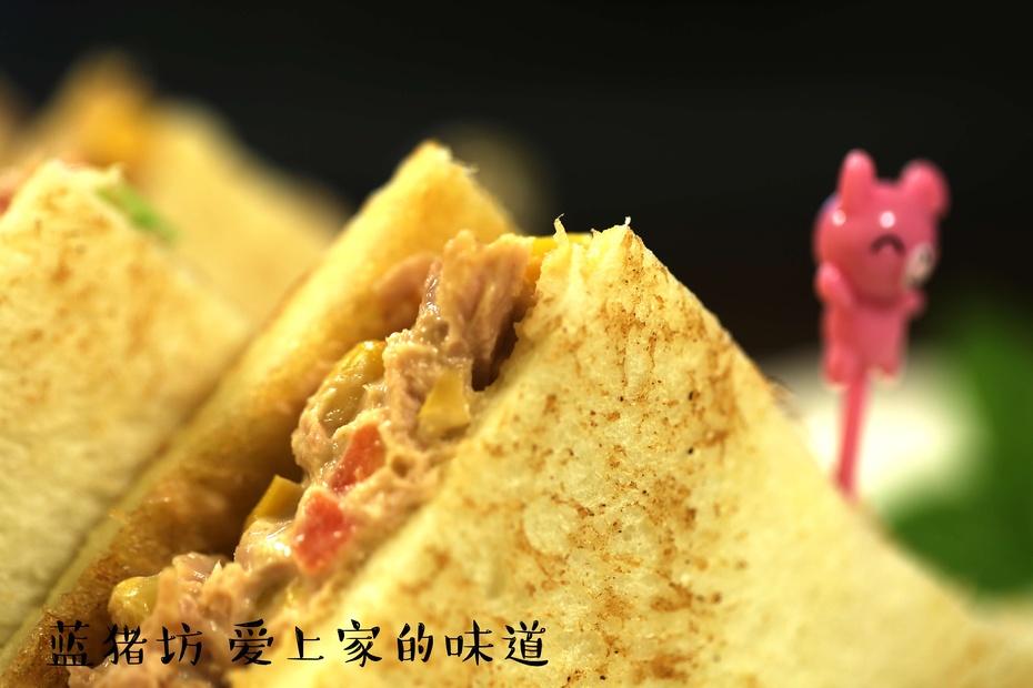 营养丰富,孩子吃了更聪明的三明治,你会做么? - 蓝冰滢 - 蓝猪坊 创意美食工作室