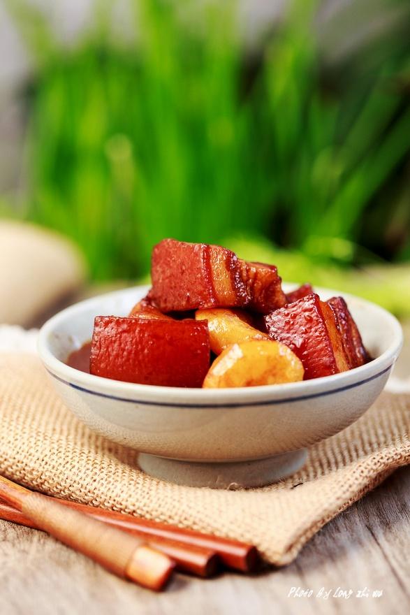 【这一年】荸荠红烧肉――鲜嫩香软,肥而不腻
