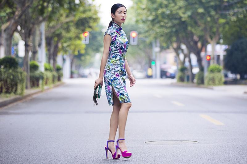 [Ava搭配周记]夏日色彩旗袍 - AvaFoo - Avas Fashion Blog