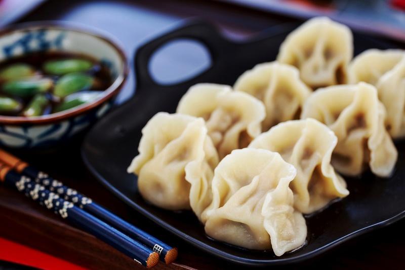 猪肉萝卜馅饺子,软嫩多汁好吃还便宜-狼之舞 - 荷塘秀色 - 茶之韵