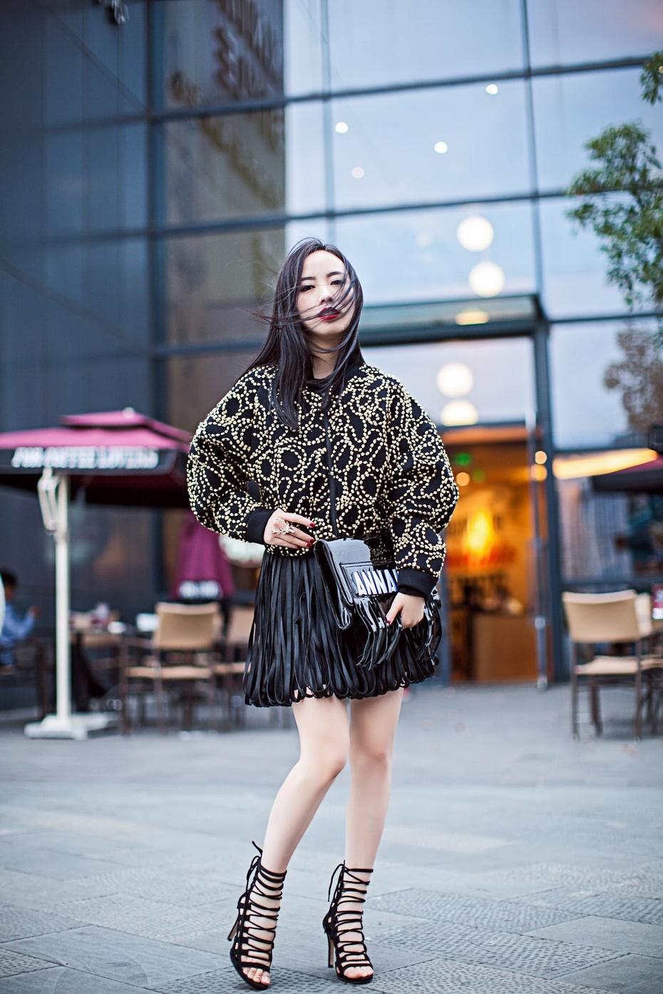 【妮儿の私服日记】流苏也能穿出名媛范儿 - Nikki妮儿 - Nikkis Fashion Blog