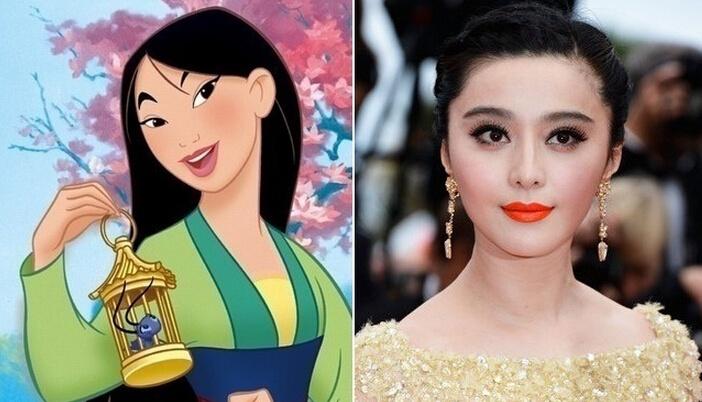 范冰冰化身花木兰 现实中的迪士尼公主都有谁 - 嘉人marieclaire - 嘉人中文网 官方博客