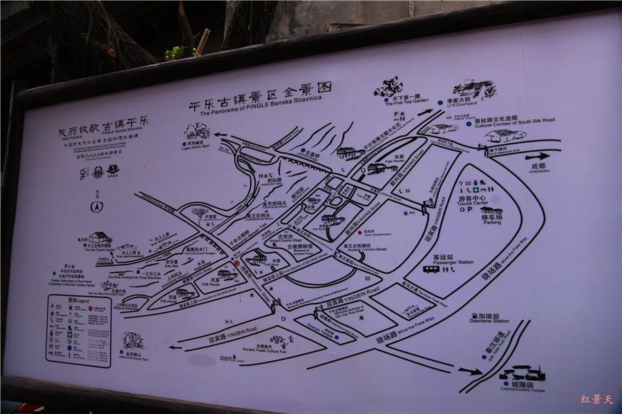 常州天宁宝塔全景图简笔画