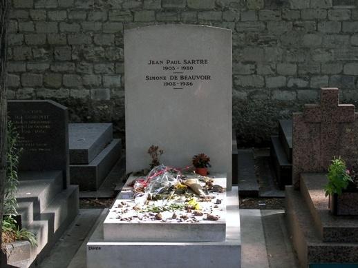 纪念萨特:在这个拒领诺贝尔文学奖的人墓前 - 东方文化观察 - 东方文化观察官方博客