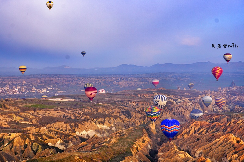 【周若雪Patty】土耳其之旅——卡帕多西亚热气球飞行 - 周若雪Patty - 周若雪Patty