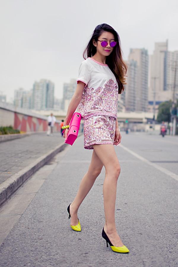 【Ava搭配日记】粉色high fashion - AvaFoo - Avas Fashion Blog
