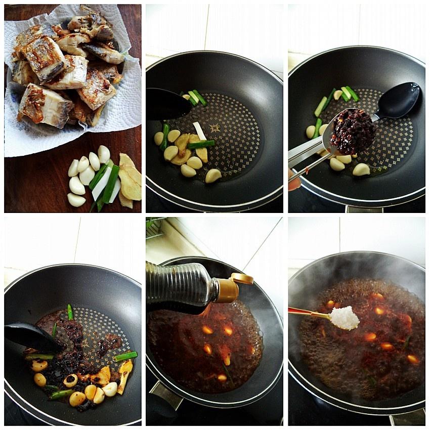 一点酱料味道大不同---老干妈烧带鱼 - 慢美食博客 - 慢美食博客 美食厨房