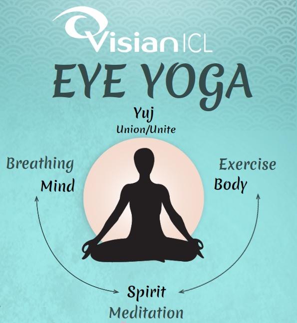 眼部瑜伽五式, ICL教您全面放松双眼