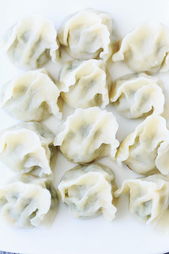 饺子馅这样调,鲜嫩多汁,咬一口汤汁顺着嘴角流-狼之舞 - 荷塘秀色 - 茶之韵