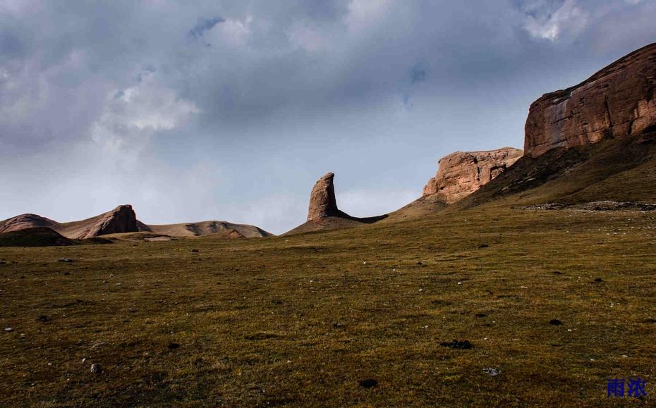 大美青海:深藏在山谷中的寺院 - 余昌国 - 我的博客