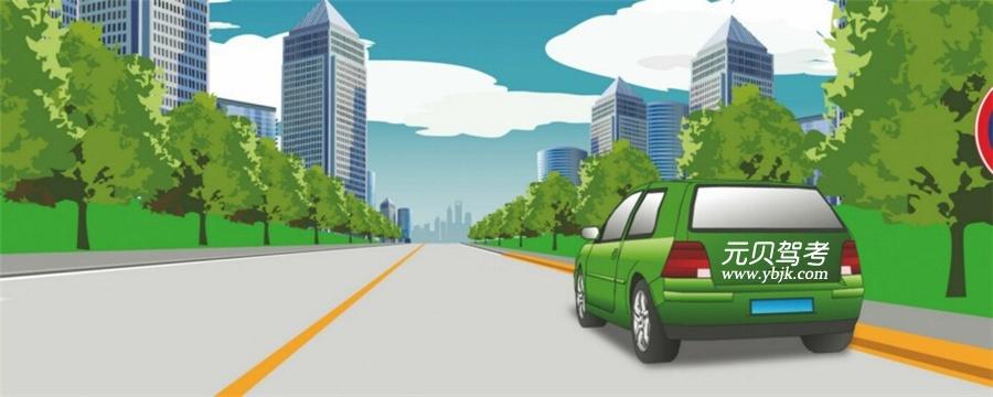 這樣在路邊臨時停放機動車有什么違法行為?A、在非機動車道停車B、停車占用機動車道C、距離路邊超過30厘米D、在有禁停標線路段停車答案是D