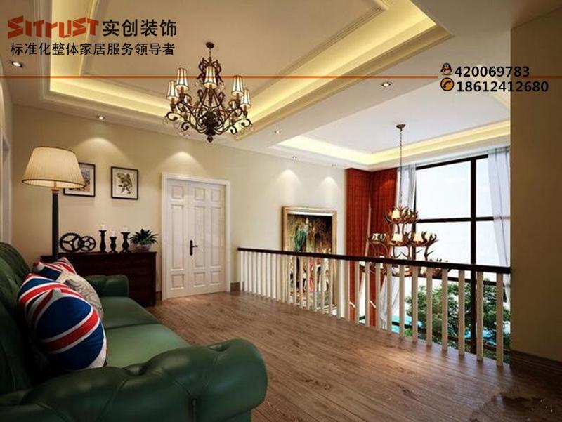 北京实创装饰【别墅装修】湾流汇350平欧式风格效果