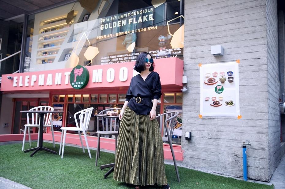【妮儿の私服日记】时尚金属与质感黑的邂逅 - Nikki妮儿 - Nikkis Fashion Blog