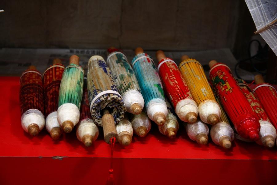 油纸伞 - 红芙蓉 - 红芙蓉的博客