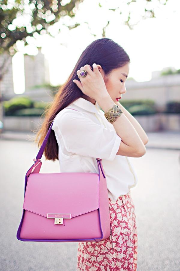 【Ava搭配日记】柔和的粉色 - AvaFoo - Avas Fashion Blog