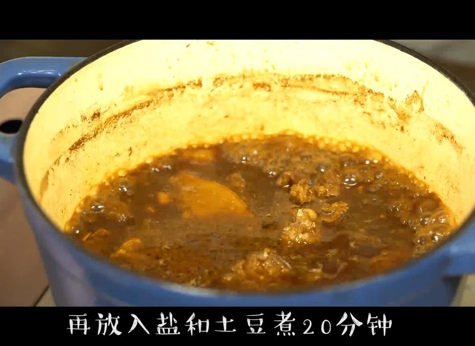 土豆炖牛肉好吃不上火,这样煮,土豆香软肉烂不腻 - 蓝冰滢 - 蓝猪坊 创意美食工作室