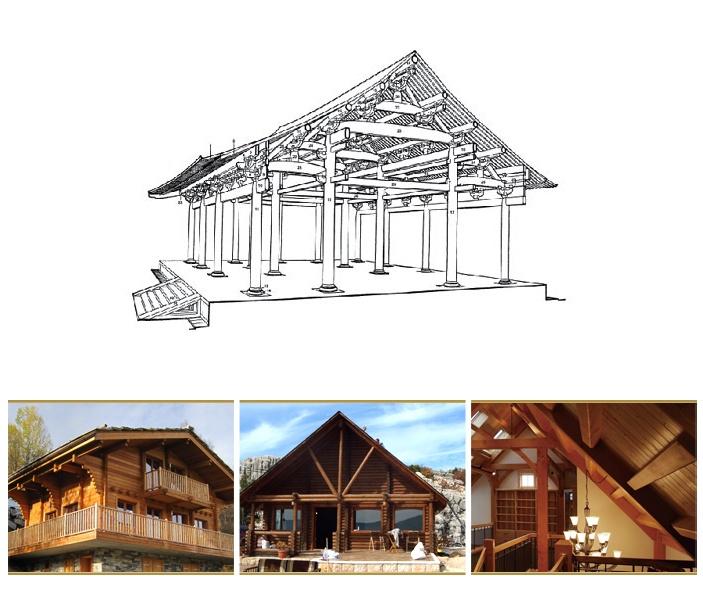 木结构建筑之梁柱结构