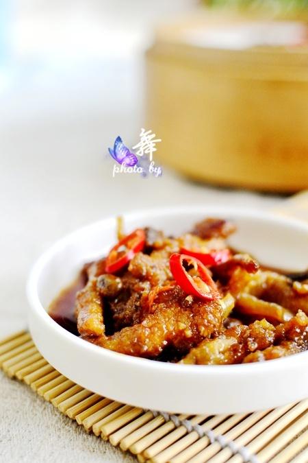 【豉香虎皮凤爪】茶楼的经典小吃自己蒸 - 慢美食博客 - 慢美食博客 美食厨房