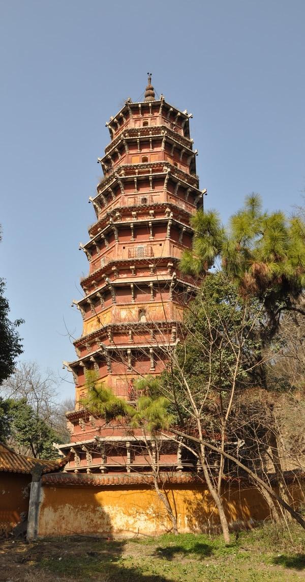 [转载]中国二十五大名塔