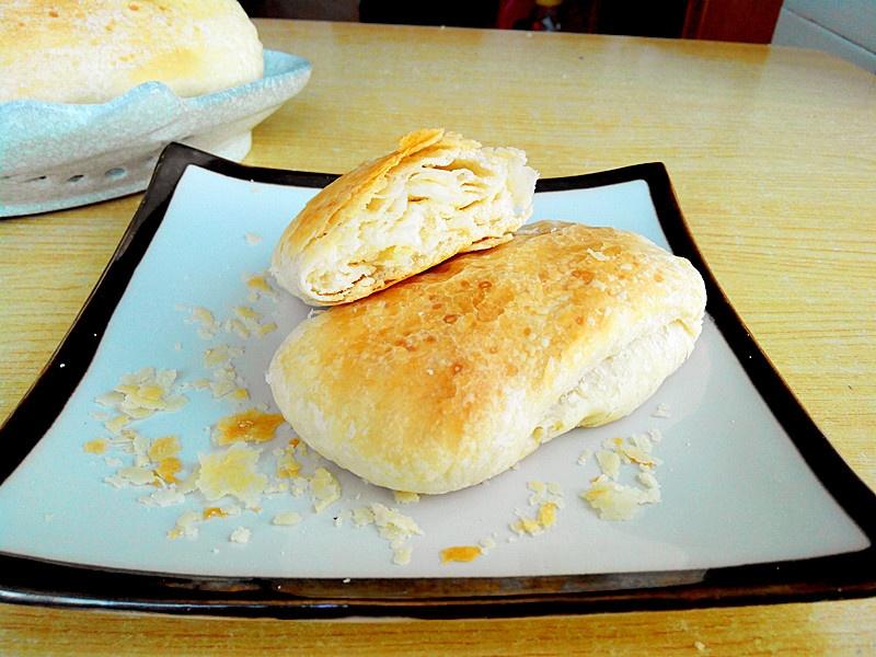 香味十足、酥的掉渣的葱油酥饼 - 慢美食 - 慢 美 食