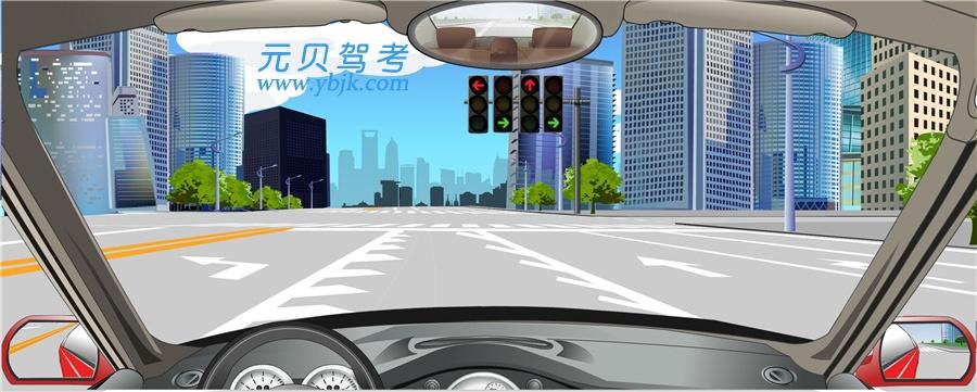 路面可變導向車道線指示可以隨意選擇通行方向。答案是錯