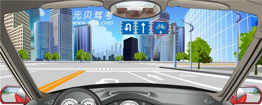 红色圆圈内标志表示除非机动车以外的其他车辆不准进入该车道行驶。答案是对