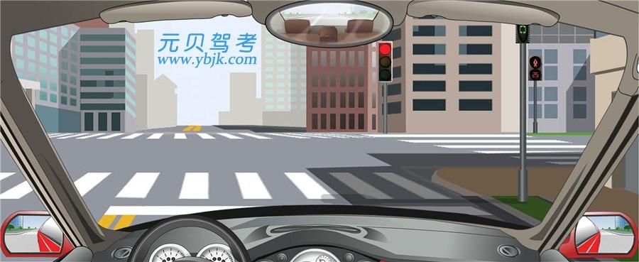 驾驶机动车在这种信号灯亮的路口,可以右转弯。答案是对